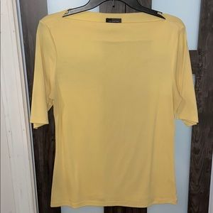 The limited size m women's yellow shirt